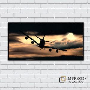 Avião Anoitecendo 01