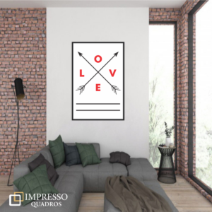 Love Flechas Vermelhas 01