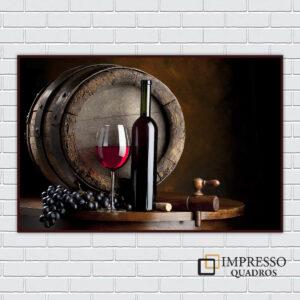Tonel com Vinho